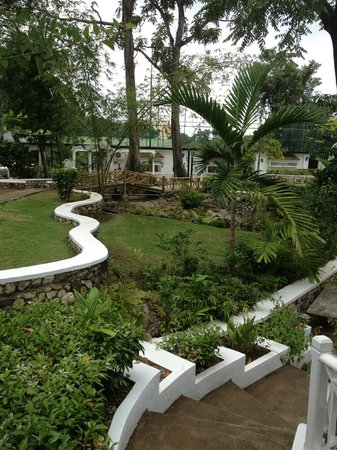 Hibiscus Lodge Hotel: Top Lawn
