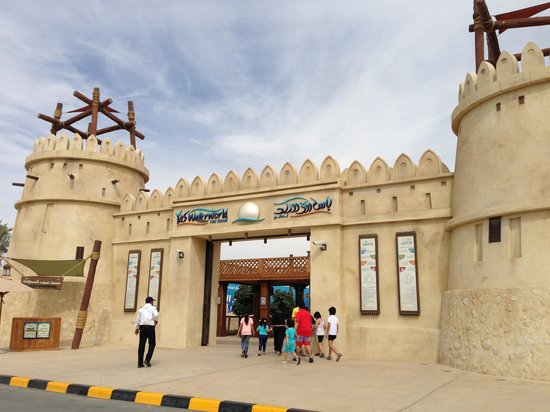 Yas Waterworld Abu Dhabi : Waterworld