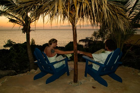 Sea Grape Villas: Chairs after our wedding