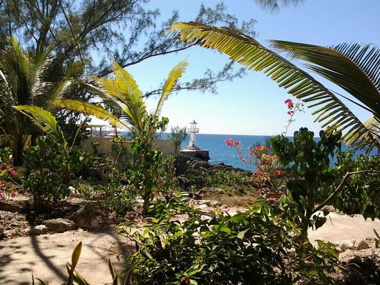 Sea Grape Villas: Our view from Wild Grape to the little lighthouse next door