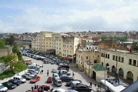 Bab Al Madina : Blick aus der Terrasse