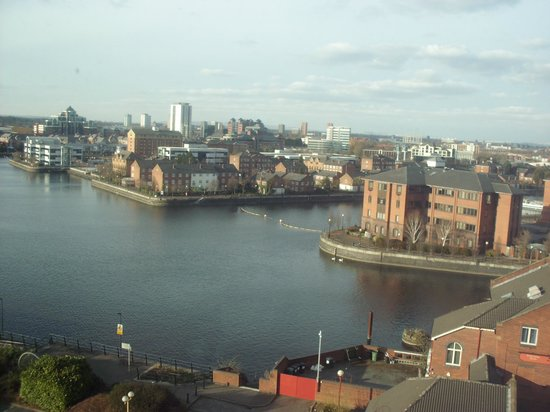 Premier Inn Manchester Old Trafford Hotel : Top floor room view - amazing