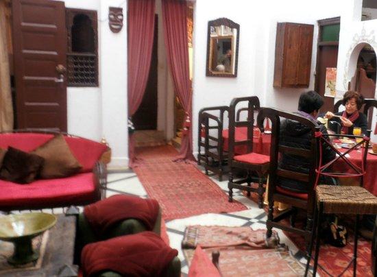Dar Sweet Sultana: la sala da pranzo