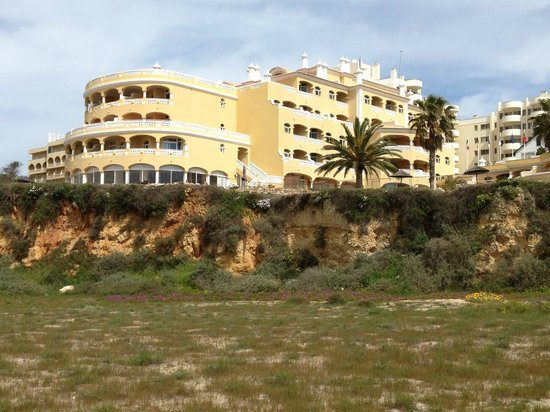 Hotel Oriental: The hotel from the beach
