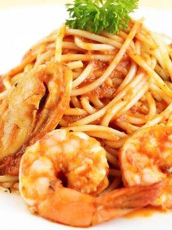 Tim Bamboo: Dinner-Seafood Pasta