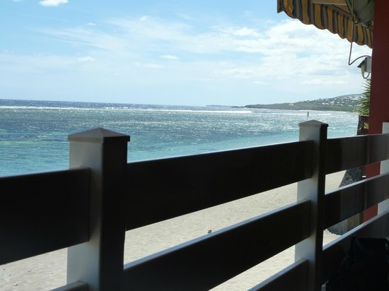 La Varangue : Vue depuis le restaurant en terrasse