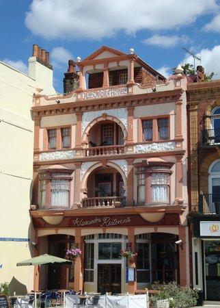 Alexandra Ristorante Italiano: Alexandra Ristorante facade (pre-2012/2013 restoration)