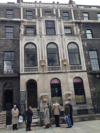 Sir John Soane's Museum: The outside - no cameras allowed inside