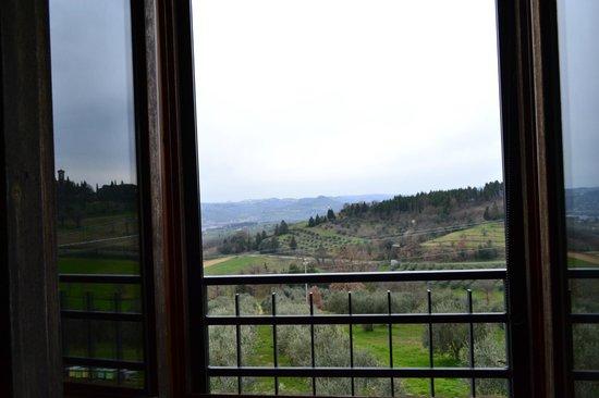 Agriturismo La Ginestrella: Dalla nostra finestra