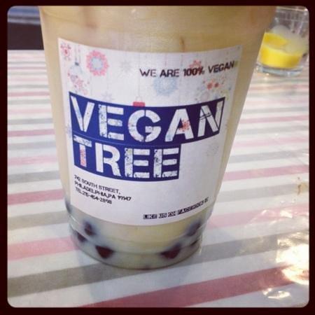 Vegan Tree: their vegan bubble tea rocks!