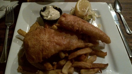 Coach & Lantern : fish and chips