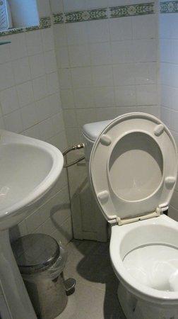 Hotel Du Parlement : bagno sottosviluppato