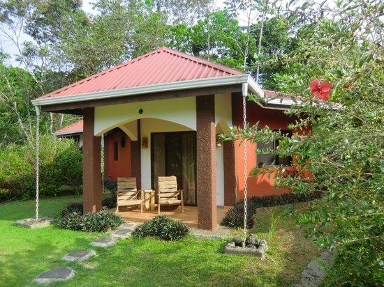 La Cacatua Lodge: Unsere Terrasse