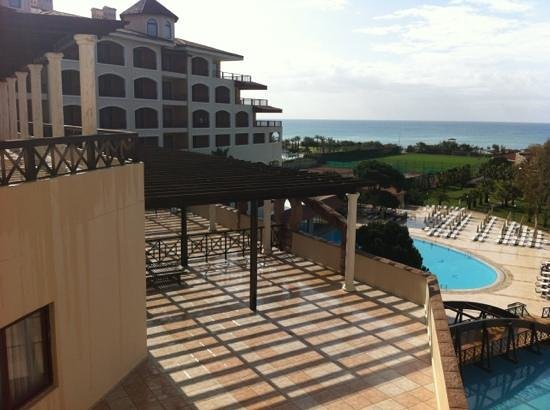 Sirene Belek Hotel: view from my room