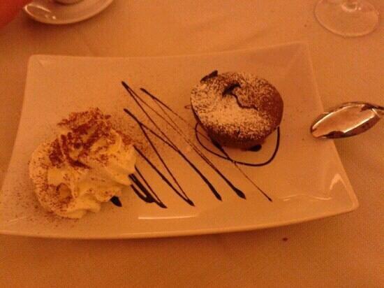 Borgo Antico: tortino al cioccolato dal cuore caldo