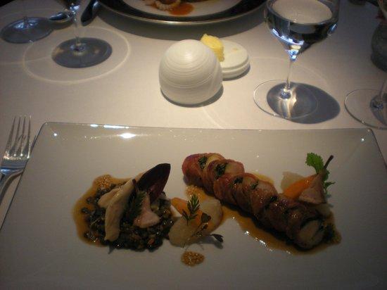 Restaurant Gordon Ramsay: Loin of Rabbit Main