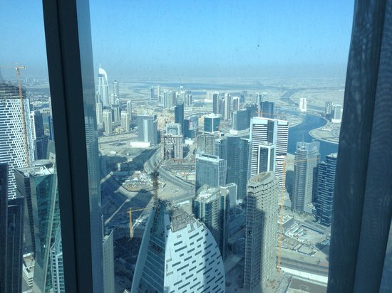 JW Marriott Marquis Dubai: The view from my room