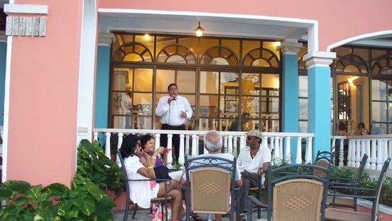 Brisas Guardalavaca Hotel: Ramon, One Of Excellent Entertainers At El Patio  Restaurant