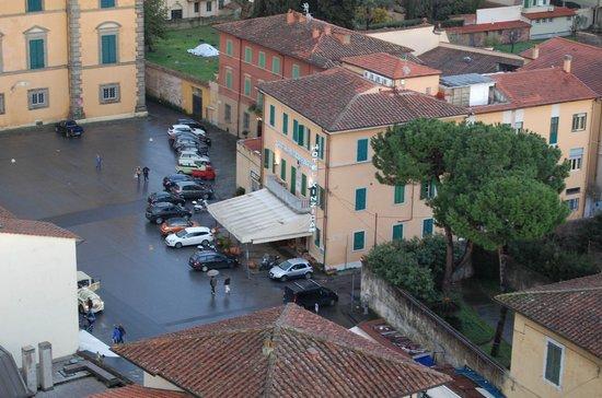 Hotel Villa Kinzica: L'albergo visto dalla torre