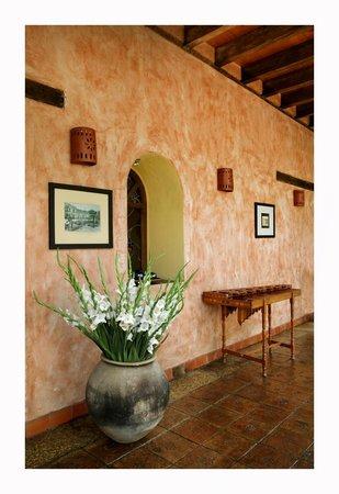 Hotel Casavieja: pasillos
