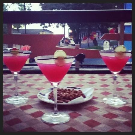 Hotel Mandovi: lovely cocktails