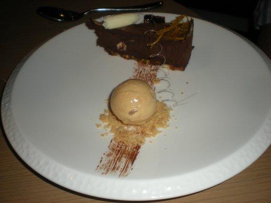 Trishna: Spiced Chocolate Mousse Cake