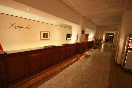Kempinski Grand Hotel des Bains St. Moritz: Reception