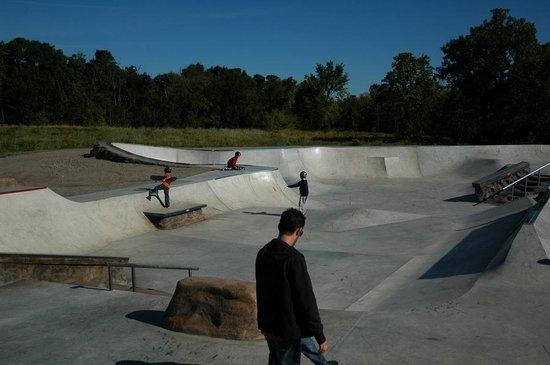 BMX Track and Skateboard park