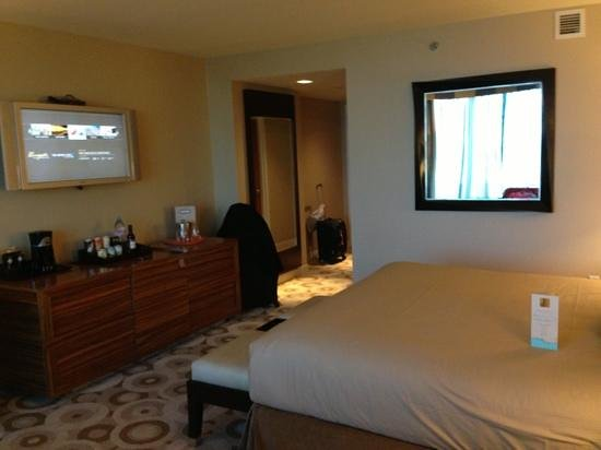 The Water Club by Borgata: room , king bed