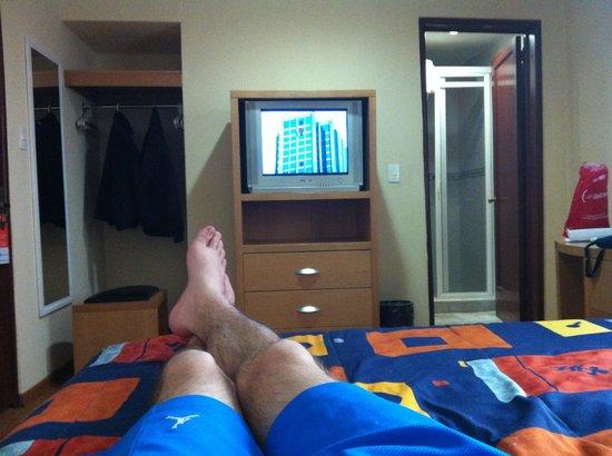 Hotel Del Principado: Room 206