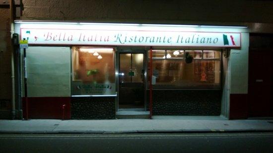 Bella Italia Ristorante: Front