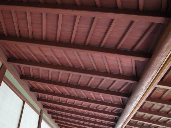 Seisonkaku Villa : つくしの縁の天井。意匠がモダンです。