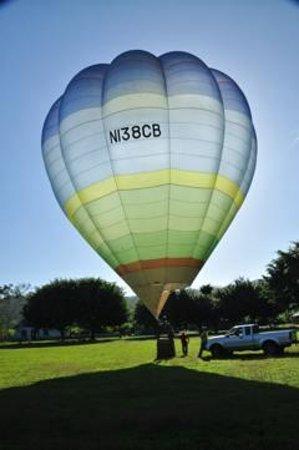 Полеты навоздушном шаре