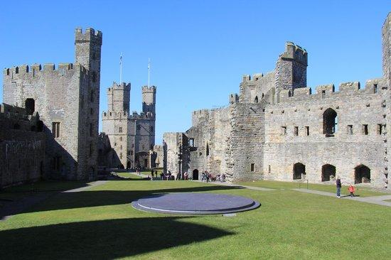 Burleigh House: Caernarfon Castle