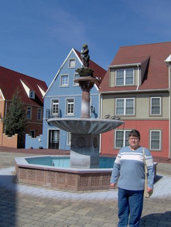 Stoudtburg Village : wish the fountain would have been working