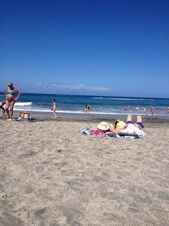 Bahia Princess Hotel: Fanabe Beach