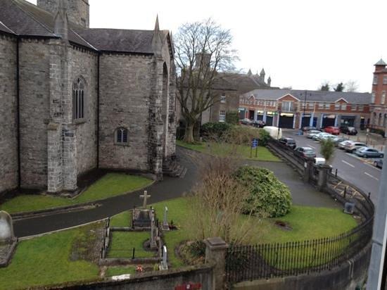 Newgrange Hotel: view from room 1