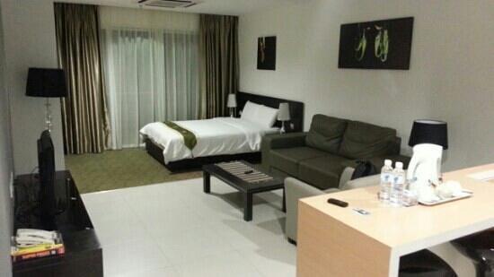 Merdeka Suite Hotel: Studio suite
