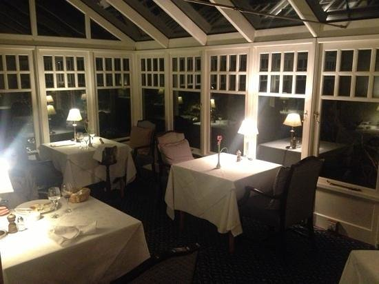 Restaurant at Darroch Learg: Conservatory dining area