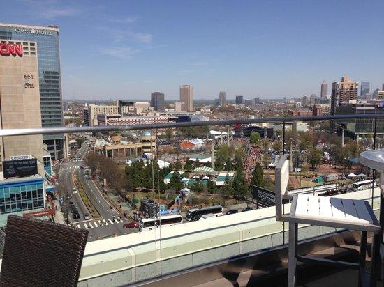 جلين هوتل  أوتوجراف كوليكشن: View from rooftop lounge