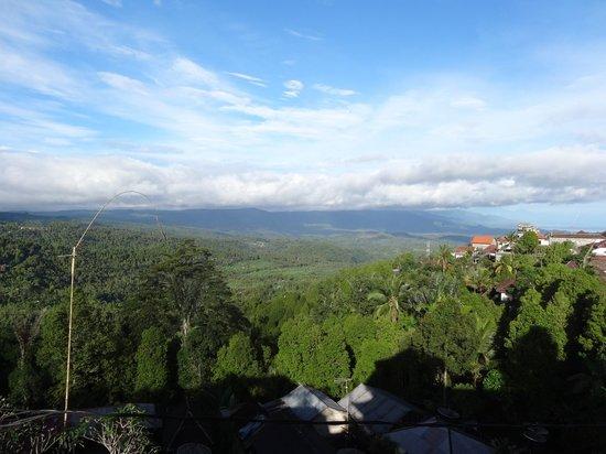 Aditya Homestay: vue de l etage