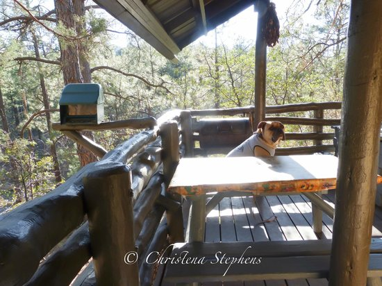 Bear Creek Motel and Cabins : Cabin Porch