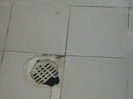 Hotel Palapas Las Gonzas : lo scario della doccia che non funziona
