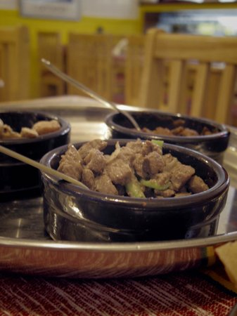 Kokeb Ethiopian Restaurant: The tasty chicken, beef and lamb!