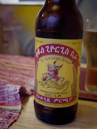 Kokeb Ethiopian Restaurant: Ethiopian beer! A must!