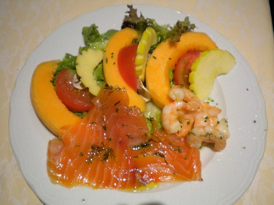 Lisses, France: Salade Fraicheur