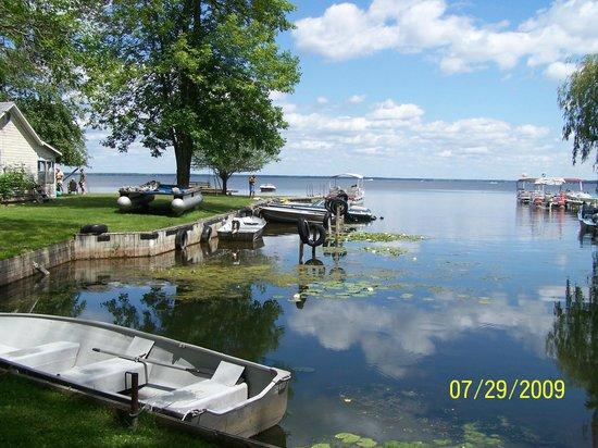 Lagoon Resort & Motel: Boat slips