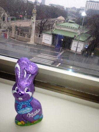 InterContinental Wien: We even got candy from the Oster Hasen on Easter morning!