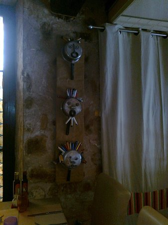La Grange : parete interna