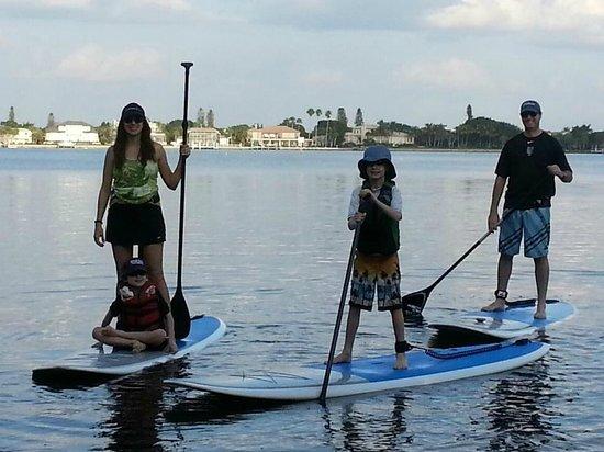 Sarasota Paddleboard Company: family outing